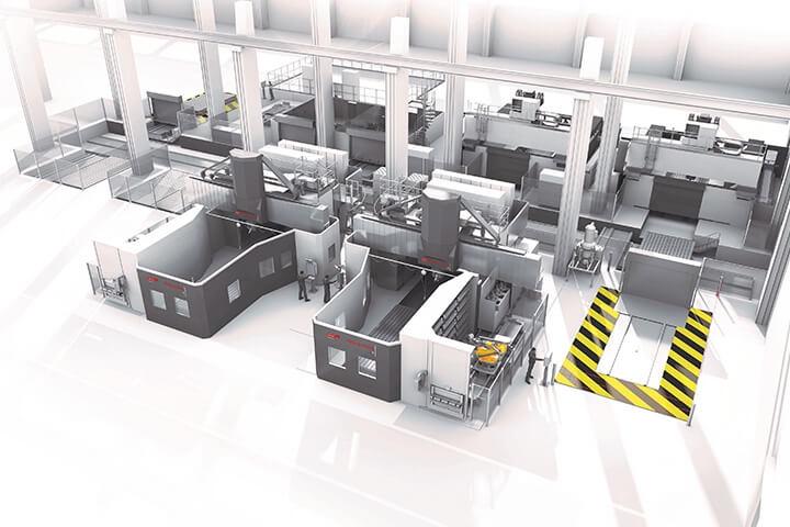 IPS, large machines