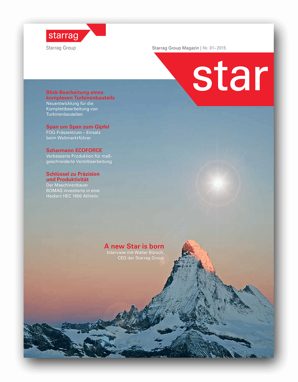 Cover Story: A new Star is born Interview with Walter Börsch, CEO of the Starrag Group